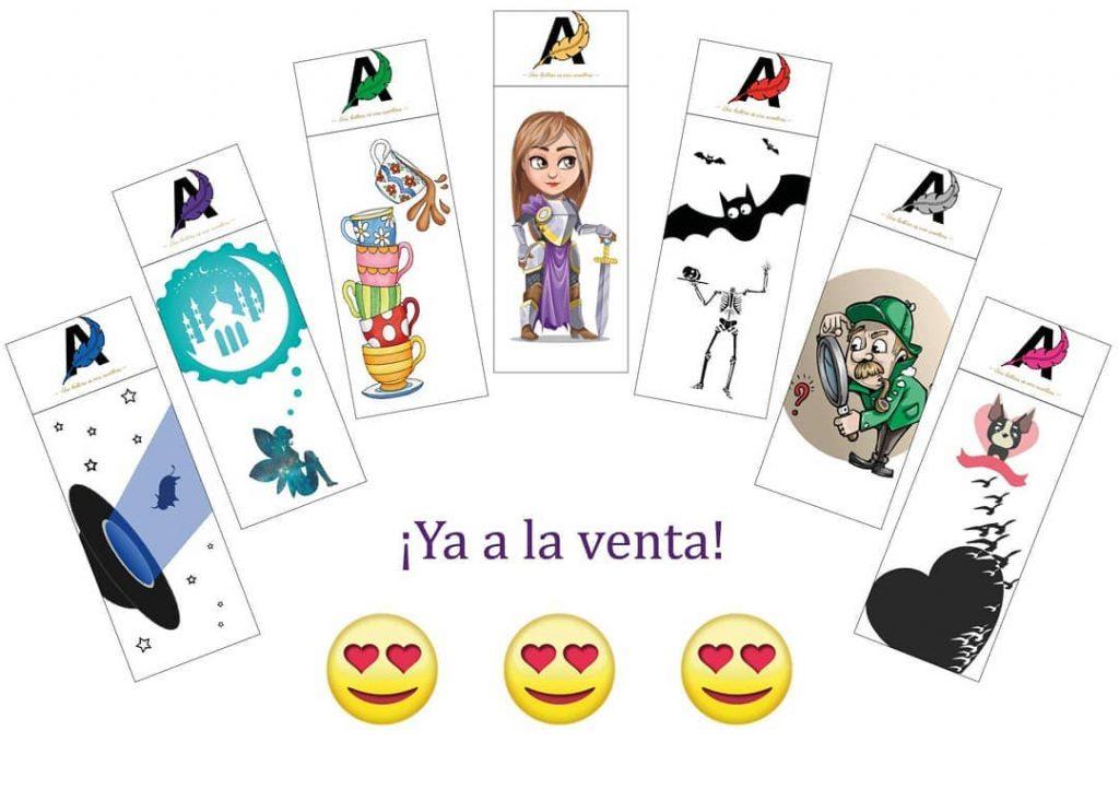 Marcapáginas de Ayaxia Ediciones