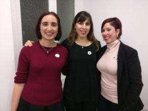 Con Laura y Cristina